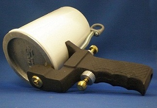 Cup gun used for gelcoat